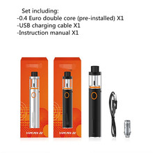 Vape Pen Kit  Tank 0.3ohm Dual Core with Built-in 1650mah Battery with LED Indicator electronic cigarette