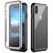 For iPhone Xs Max Case Shock Dirt Snow Proof Protection Built-in Screen Protector for iPhone Xs Max 6.5 inch With Touch ID Cover for iphone xs max ip68 waterproof case water shock dirt snow proof protection for iphone xs with touch id case cover