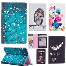 Luxury Print Flip PU Leather Case Cover for New Kindle 2016 8th Generation Flip Stand for Amazon Kindle 8 Generation 2016 6″Case