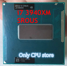 Ücretsiz kargo INTEL CPUI7 3940XM SR0US I7 3940XM işlemci SROUS 3.0G 3.9G/8M