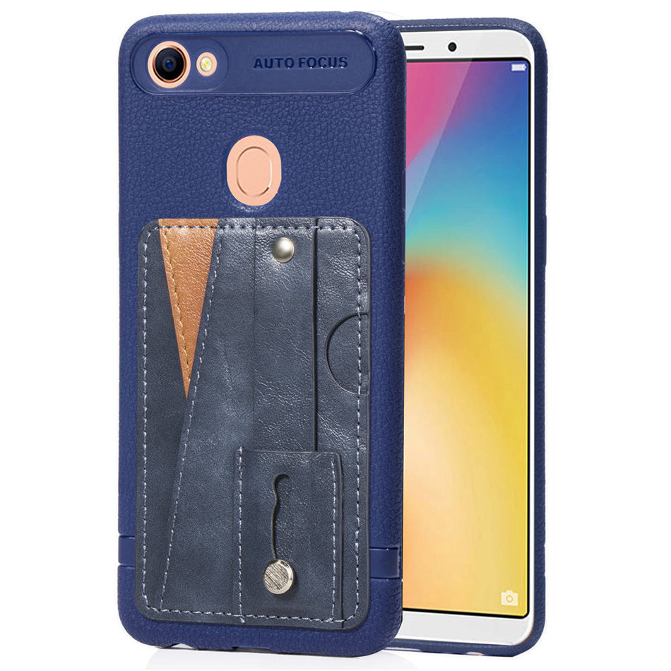 Slim Phone Back Cases Cover For OPPO A39 A57 A73 A75 A75S F5 F7 Retro Fashion Card Bit Fundas Stand Function Capa D05E in Half wrapped Cases from Cellphones Telecommunications