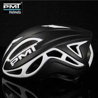 Pmt 초경량 자전거 헬멧 일체형 도로 산 mtb 자전거 자전거 헬멧 casco ciclismo 17 구멍 m l|자전거 헬멧|   -