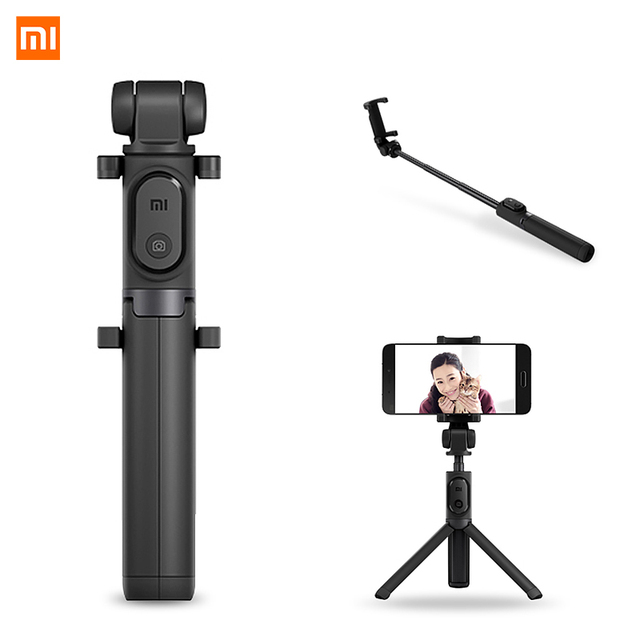 Original Xiaomi Mi Selfie Stick Tripod Bluetooth Wireless Remote Control 360 Degree Rotating Bracket for IOS Android Phone