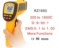 GM1650 Safety Precision Durable Multi function Measurement 18 to 1350 degrees Infrared Thermometer