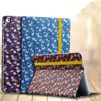 Case For Apple iPad air air2 ipad 5 6 Smart Cover Leather Folio Stand Smart Sleep Wake Casual style Protective Ultra Slim Shell
