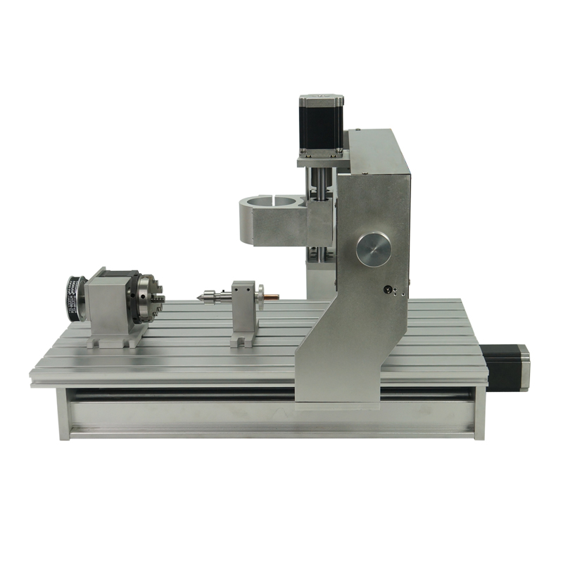 New 3040 Aluminum Lathe Bed 1605 Ball Screw CNC Router 4axis Engraving Machine Frame without motor or with motorNew 3040 Aluminum Lathe Bed 1605 Ball Screw CNC Router 4axis Engraving Machine Frame without motor or with motor