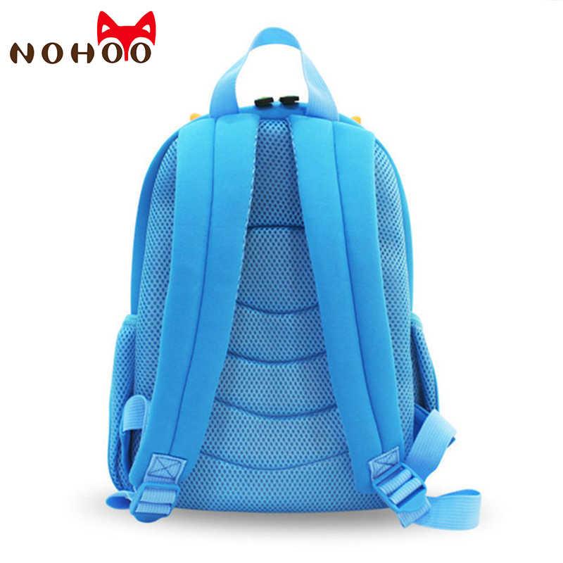 00e01e46ba90 ... NOHOO Children School Bags Kids Baby 3D Dinosaur Backpack Toddler  Backpacks for Boys Girls Dinosaur Bookbag ...