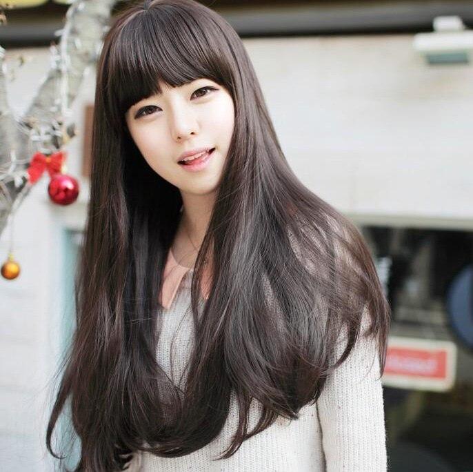 Us 849 40 Offneue Mode Frauen Synthetische Perücke Dunkelbraunhellbraunschwarz Peluca Gewellte Lange Haare Perücke Mit Haarnetz Peruca Auf