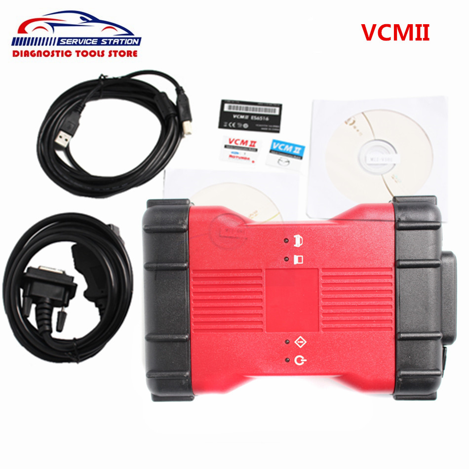 Quality A+ For F-ord VCM 2 Diagnostic Tool VCM II IDS VCM2 Diagnostic Scanner for f0rd vcm free shipping 2016 top selling professional diagnostic tool for bmw scanner version 2 0 1 pa soft for bmw scanner pa 2 01 dhl free shipping