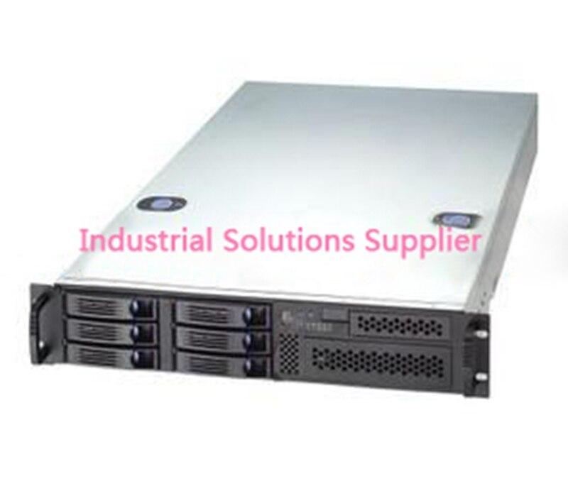 New RM21706 21070 2U Server Computer Case 6 Hot Plug Hard Drive Nvr