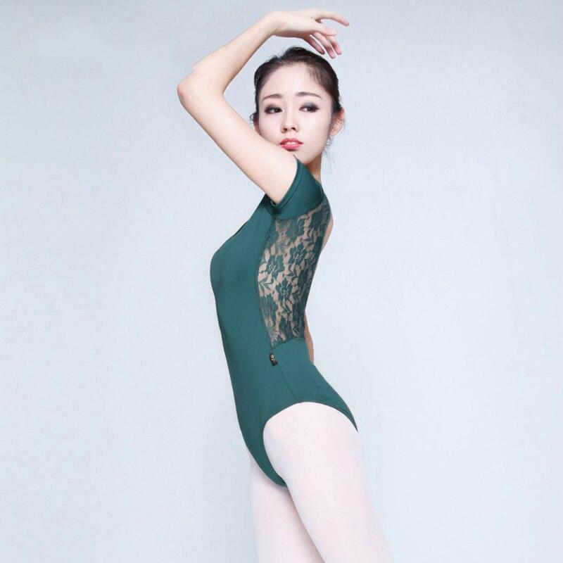 Vestido Ballet Leotard Adult Ballet Tights Women Ladies Sexy Lycra Spandex Dance Gymnastics Leotard Lace Mesh Leotard Dancewear