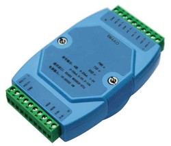 0-20mA/4-20mA/0-5 V/1-5 V/0-10 V wyjście analogowe moduł Modbus RS485