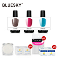 100% Genuine Bluesky Summer Colors Soak off UV Gel Polish for Nail Top Popular Nail Art