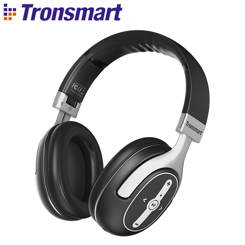 Original Tronsmart Encore S6 Active Noise Cancelling Bluetooth Headphones with Microphone & 3.5mm Audio Jack for iPhone, Android touchstone teacher s edition 4 with audio cd