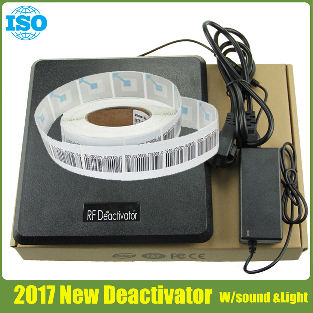 2017 technology eas soft label deactivator with multi function RF8.2Mhz security tag detector 1set 1 pcs full range multi function detectable rf lens detector wireless camera gps spy bug rf signal gsm device finder