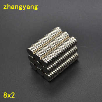 20/50/100/200/500pcs 8x2mm Strong Round Magnet Neodymium magnet Industrial Magnet 8*2 8x2 Art Craft Connection free shipping - DISCOUNT ITEM  58% OFF All Category