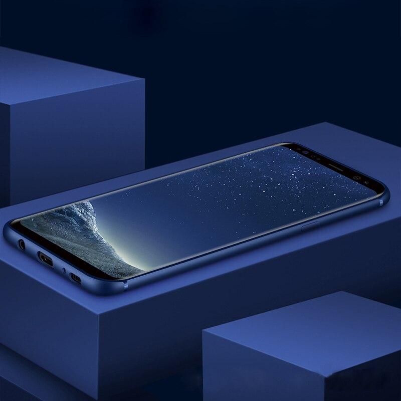 Для samsung Galaxy S8 случаях Мягкие TPU кремния тонкий кожи ультра тонкий чехол для samsung Galaxy S7 край чехол для galaxy S6 S7 S8 плюс