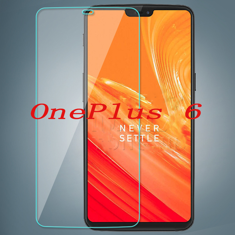 2PCS <font><b>Smartphone</b></font> Tempered Glass 9H Explosion-proof Protective Film Screen Protector mobile phone for <font><b>OnePlus</b></font> <font><b>6</b></font> OnePlus6 1+<font><b>6</b></font> A6000 image