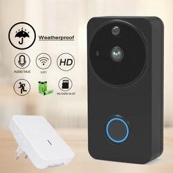 CTVMAN водонепроницаемый Видеозвонок Wifi дверной звонок Домофон для дома беспроводной Видео дверной телефон для квартиры батарея IP камера дом...