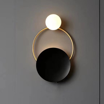 Nordic Modern Iron Metal LED Decorative Lights Wall Light Living Room Tiffany Sconce Wall Lamp Bedside Bedroom Wall Light Lamps цена 2017