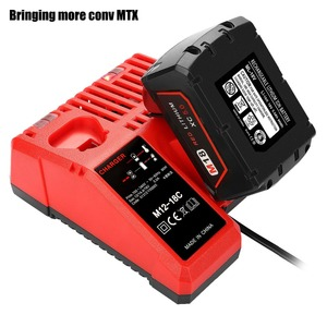 Hot sell Replacement Charger for Milwaukee M18 14.4V 18V Li-ion Battery 48-11-1815 48-11-1820 48-11-1840 48-11-1850 48-11-1828(China)