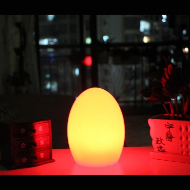 Lumineux lâmpada lumineux LEVOU decorativo recarregável do DIODO EMISSOR de luz lâmpada de mesa Conjunto de Móveis de Bar Frete Grátis 10 pçs/lote D14 * H19cm