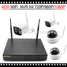 HKES 4CH Wi-fi NVR CCTV System 1080P IP Cam WIFI Outside Indoor IR Night time Vison Digital camera Surveillance Package