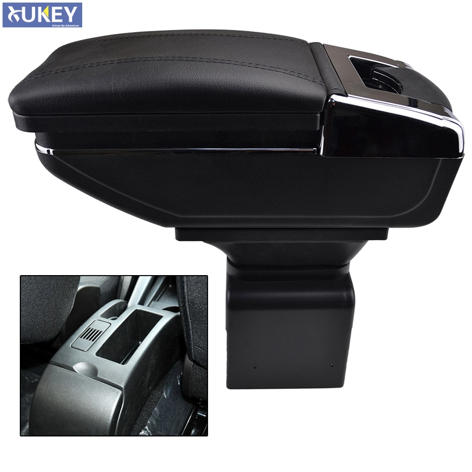 Подлокотник для хранения для Peugeot 307, поворотный подлокотник для центральной консоли