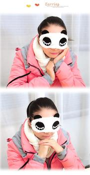 Maska do spania panda