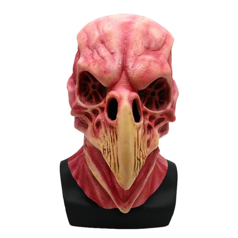 Skull Head Full Head Latex Mask Halloween Costume Accessory