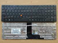 New Sp Spanish Keyboard For HP Elitebook 8560W 8570W With Point Stick 9Z N6GPF H0S Laptop