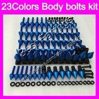 Tornillos kit repuesto juego de tornillos completo Para HONDA CBR1100XX Blackbird 96 97 98 99 00 01 02 03 04 05 06 07 1100XX Cuerpo Completo tornillos Tuercas