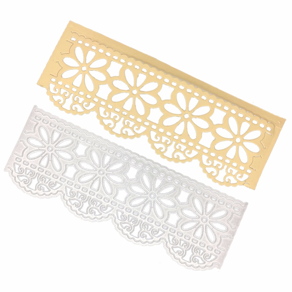 Adv one metal cutting dies daisy flower border die cut embossing adv one metal cutting dies daisy flower border die cut embossing scrapbooking craft create stamps paper card album stencil in cutting dies from home izmirmasajfo