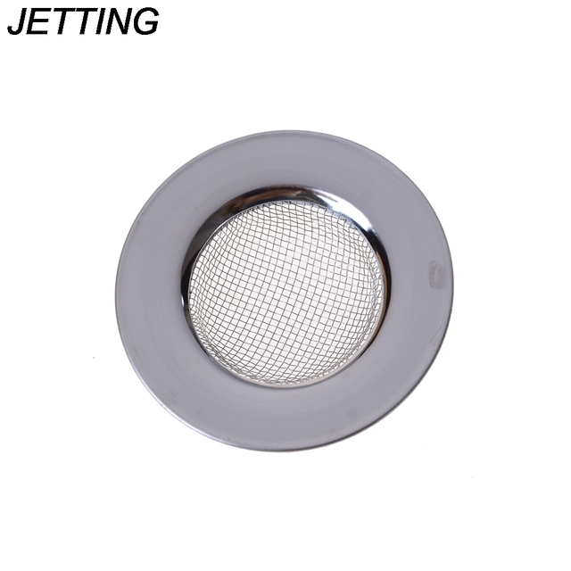 Stainless Steel Filter Round Floor Drain Kitchen Sink Filter Sewer Drain Hair Colanders & Strainers Filter Bathroom Sink 1