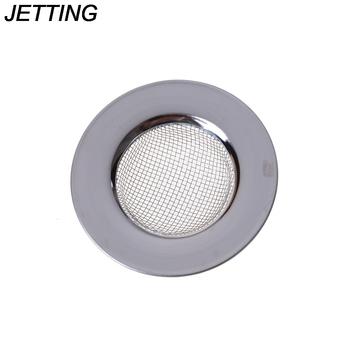 Filtr ze stali nierdzewnej okrągłe sięgające podłogi spustowy sitko do zlewu kuchennego odpływ kanalizacyjny sitka zatrzymujące włosy i filtry filtr umywalka do łazienki tanie i dobre opinie HUXUAN Bez kran Pojedyncze bowl STAINLESS STEEL Other Powyżej licznika ROUND CA-SH-BI-252