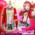 LoveLive! любовь Живая День святого валентина Маки Nishikino Chistmas Единая Аниме Косплей Костюм Для Женщин Девушки Пальто Куртки