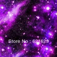 Mysterious starry sky 8'x8′ CP Computer-painted Scenic Photography Background Photo Studio Backdrop ZJZ-210
