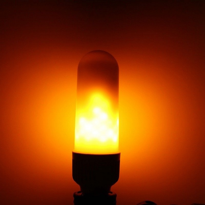 Outdoor LED Flame Effect Simulated Nature Fire LED Light Corn Bulbs E26 E27 B22 Flickering Emulation Fire Light Decoration Lamp