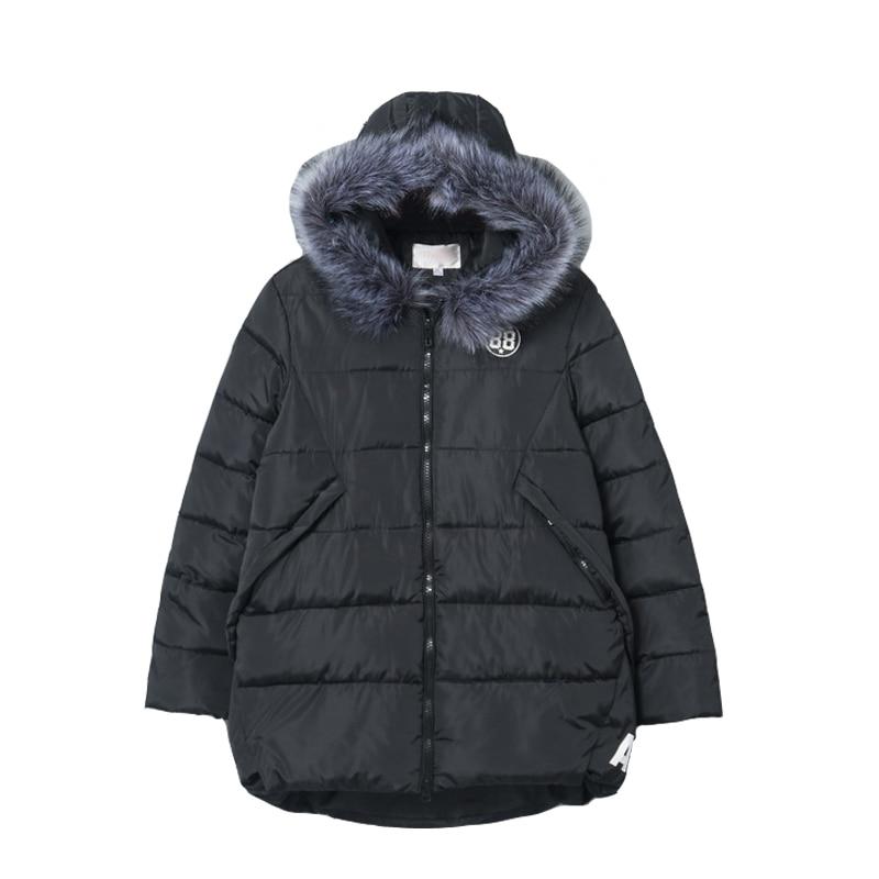 Winter Female Jacket 2018 Winter Coat Women Fur Collar Warm Woman   Parka   Outerwear Down jacket Winter Jacket Female Coat