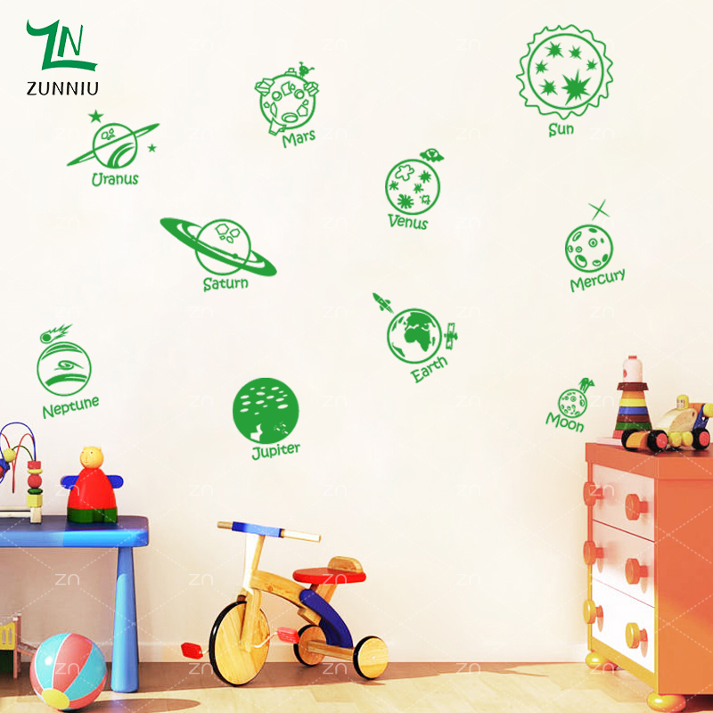 E423 Wall Stickers Басты декор DIY плакат Decal - Үйдің декоры - фото 5