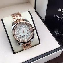 2016 nuevo diseño famouse Marca Relojes Mujer Vestido Relogio Feminino Lujo Reloj de Acero llena de Diamantes Relojes de Oro Para Mujer regalo