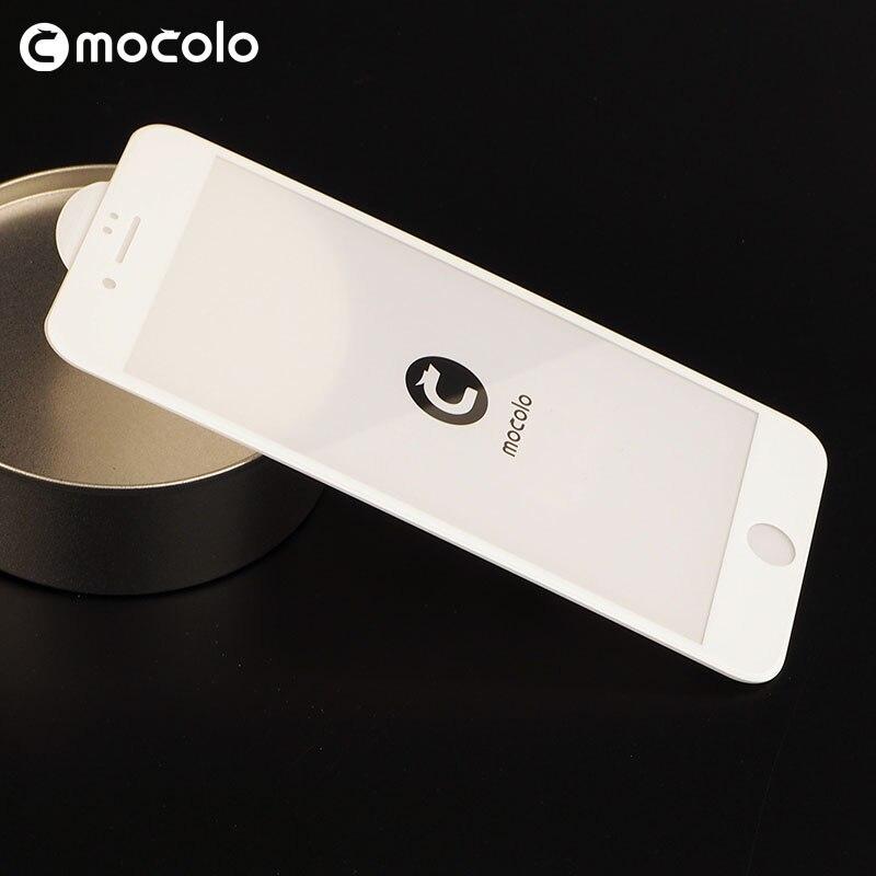 Mocolo Vidro Temperado vidro para iphone 7 COBERTURA COMPLETA 3D 3D para iphone protetor de tela 7 3D 6 6 s tela de toque Compatível Para iphone 7 Plus