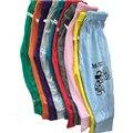 Nuevo diseño del bebé pantalones del bebé niñas niños polainas lindo manera del verano muchachos de las muchachas infantiles pantalones del bebé pantalones de algodón pantalones delgados