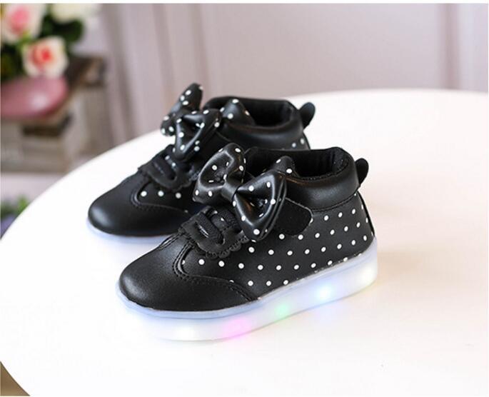 Sneakers Met Licht : Lente herfst kids led schoenen voor meisjes peuter meisje sneakers