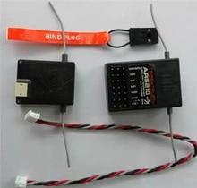 AR6210 DSMX приемник передатчик TX RX поддержка DSM2 для Spektrum RC