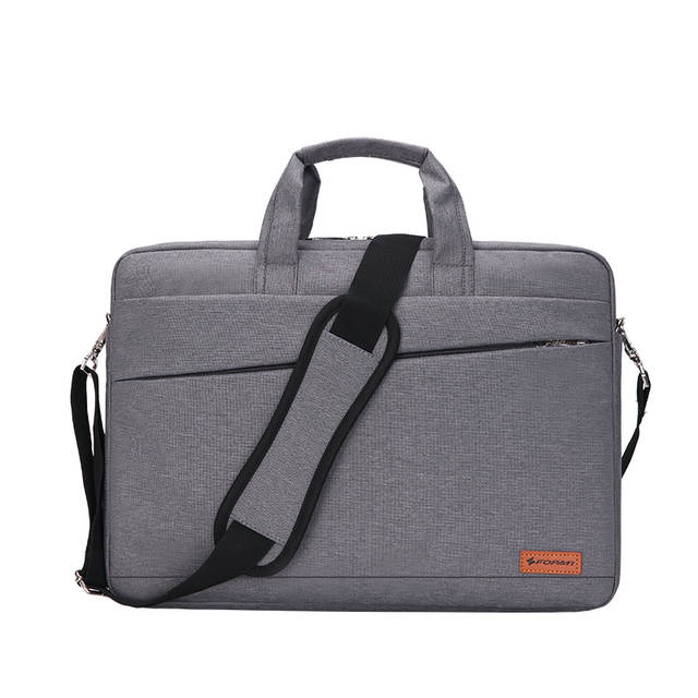 21db9396a640 US $29.75  Kissyenia Waterproof Laptop Briefcase Men Women 13 14 15inch  Computer Bag Business Travel Laptop Case Flight Shoulder Bag KS1251-in ...