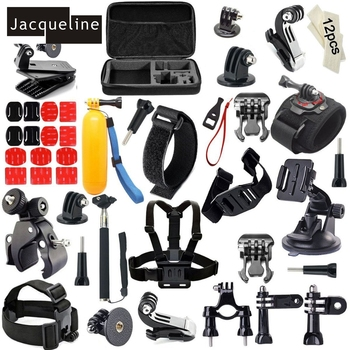 Jacqueline for Selfie Stick Folating Hand Grip Action Camera Accessories Kits for Gopro hero HD 6 5 4/3 for SJCAM for EKEN H9R