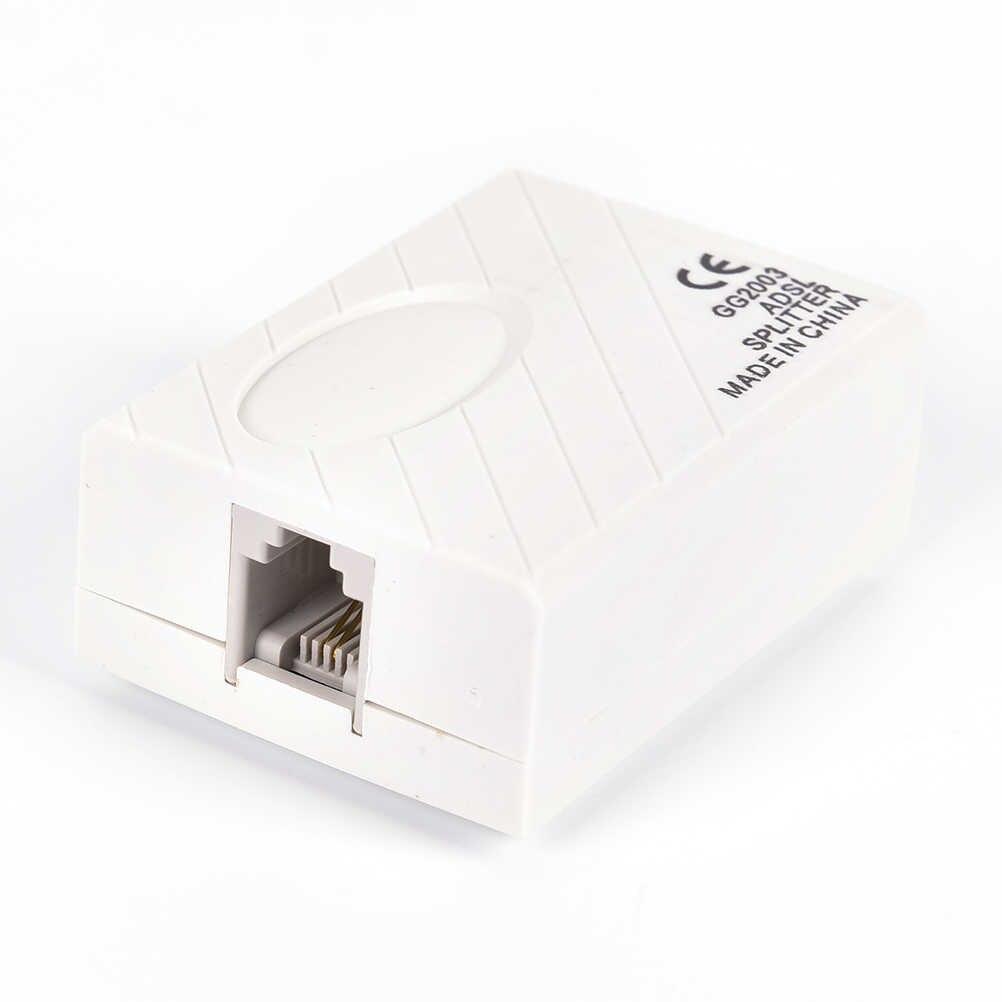 1 Pcs טלפון RJ11 קו ADSL מודם פס רחב טלפון ספליטר סינון קו