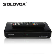 Factory Outlet 1PC free shipping Original SOLOVOX F5S Plus 1080p Full HD Satellite Receiver DVB Support USB Youpron CCCAM WebTV