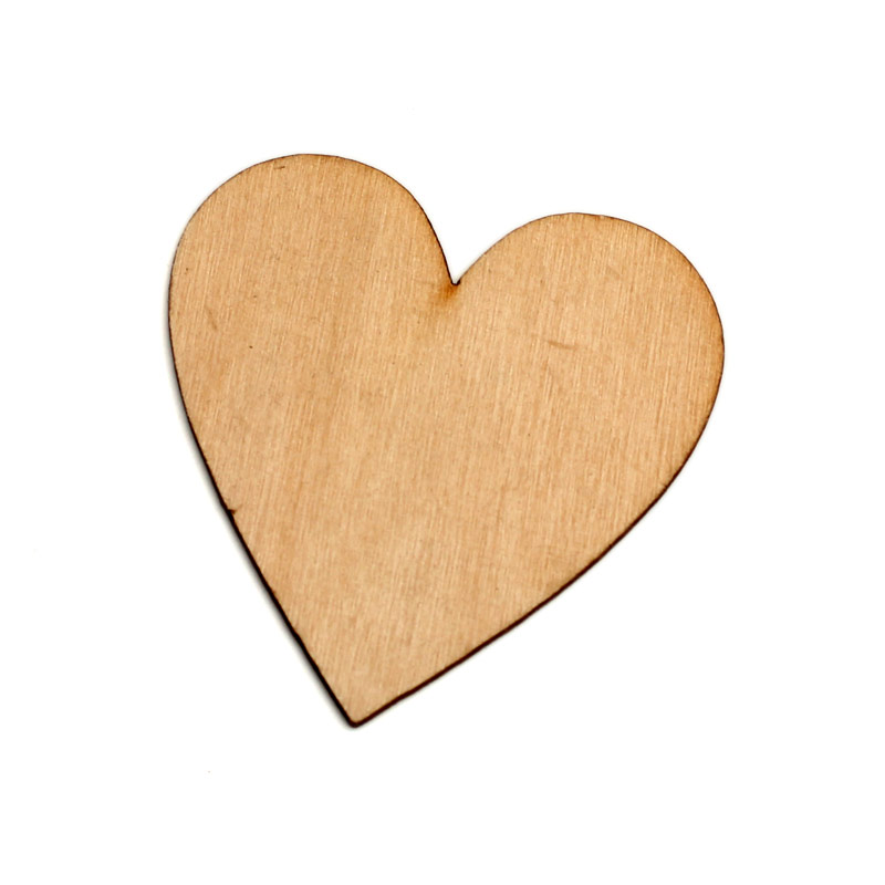 20pcs Natural Hearts Wood Craft Embellishments MDF Wooden Cutout Flatback  Scrapbooking for Cardmaking DIY Wedding Decoration cceef98ed450